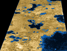 Titan'ın tepesinde dev bulut.50296