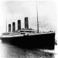 Batan Titanik'in malları açık artırmada.5986