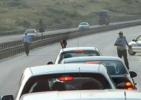 Başkentte zincirleme trafik kazası.7246