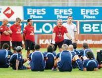 Trabzonspor'da, Bursaspor mesaisi ba�lad�.10723