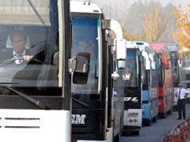 Çin otobüsleri iki hafta yolcu taşıyabildi.16333