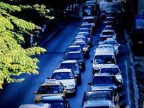 Trafikte bayram çilesi başladı.11135