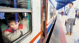 Malatya'da trenin çarptığı kimsesiz kadın öldü.11624