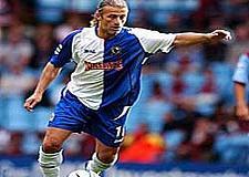 'Blackburn'�n en �nemli oyuncusu'.11083