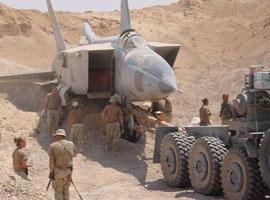 Saddam'ın MIG-25'leri bulundu.16598