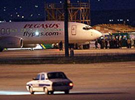 İşte uçağın kaçırılma anı.17280