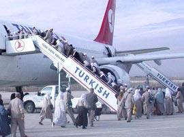 Muğla'nın ilk umre yolcuları yola çıktı.15781