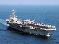 USS Abraham Lincoln Tayland'a demir attı.18155