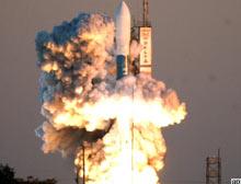 Çin Nijerya için uydu fırlattı.11935