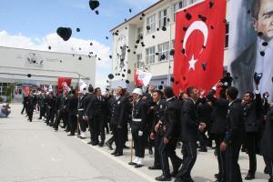 Yozgat PMYO 11. dönem 250 polisi mezun etti.14990