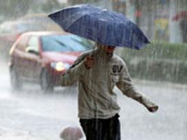 Başkent' te yağış trafik kazalarını arttırdı.12301