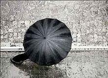 İstanbul'a beklenen yağmur yağdı.14308
