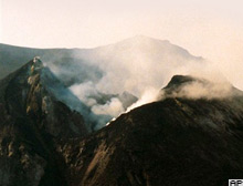 Etna Yanardağı faaliyete geçti .11334
