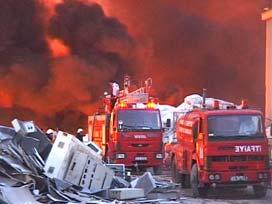 Ankara'da yangın faciası: 1 kişi öldü.11382