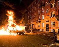 Kopenhag'da şiddet.19027