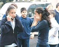Çıkan kavgada 2 öğrenci bıçakla yaralandı.10758
