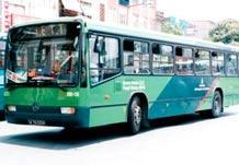 Ankara'da yeşil otobüs eylemi.9073