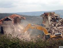Sarıyer'de yıkım gerginliği.8902