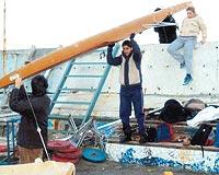 İstanbul'daki yıkımda olaylar çıktı.11918