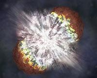 En parlak yıldız patlaması belirlendi.9777