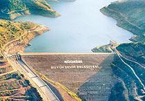 Yuvacık Barajı'nın suyu fazla geldi.10405