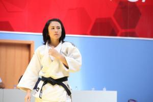 Judo D�nya �ampiyonas�'nda Ebru �ahin d�nya yedincisi oldu.7808