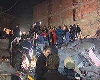 FLAŞ! İstanbul'da 5 katlı bina çöktü.10079
