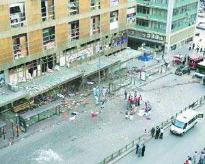 Başbakanlık: Patlamada 121 kişi yaralandı.45116
