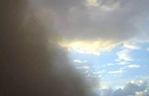Güneydoğu Anadolu'da toz bulutu yeniden etkili..5510