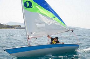 Yelken yarışları başladı.10582