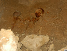 Milattan �nce 4'�nc� y�zy�la ait iskelet.11849