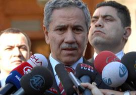 Arınç: Abdullah Gül'ün yanında yeni adaylar olabilir.11223