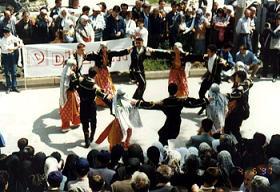 Samsun'da dans şöleni başladı .18965