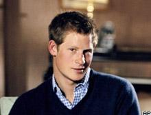 Prens Harry, Kanada'da kampa alındı.12146