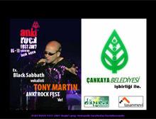 Ankara'da dev rock organizasyonu.12010