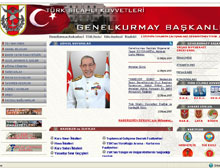 T�rk Silahl� Kuvvetleri internet sitesi yenilendi.17014
