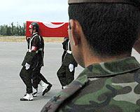 Şehit Binbaşı Özyalçın için tören düzenlendi.10879