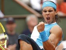 Nadal Fransa Açık'ta finale yükseldi.8126
