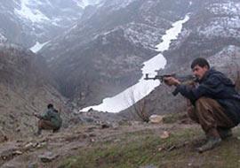 Tunceli'de güvenlik güçleri ve PKK arasında çatışma çıktı.13191