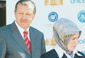 Erdoğan aracında mahsur kaldı .11785