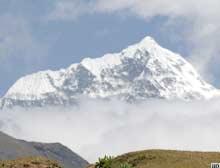 Büyük sır için Everest'e ikinci tırmanış.7324