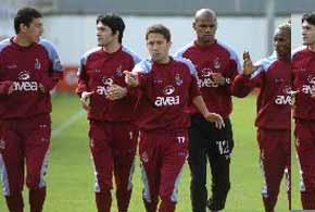 Trabzonspor 33 futbolcuyla gidiyor.12922
