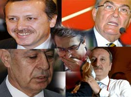 Yaşayan devlet adamları içinde en beğenilen Erdoğan.11460