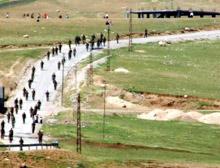 PKK'nın bombaladığı 'Şehri köprüsü'  yeniden yapılıyor.18583