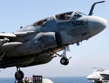 ABD'nin elektronik uçakları devrede.13630