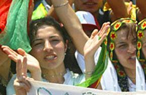 PKK, Brüksel'de gösteri düzenledi.14113