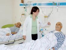 48 yıl hastanede yattı.13047
