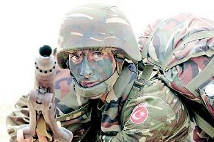 Kara Kuvvetleri 3 bin 18 uzman komando alacak.16536