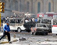 Bağdat'ta intihar saldırısı: 9 ölü.16535