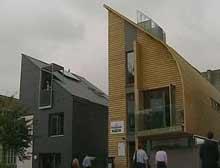 İngiltere'de ekolojik evler tanıtıldı.7677